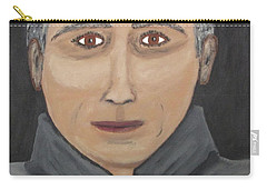 Carry-all Pouch featuring the painting Self by Jeffrey Koss