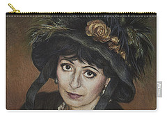 Self-portrait A La Camille Claudel Carry-all Pouch