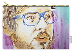 Self Portrait Of A Younger Me Carry-all Pouch
