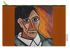 Self Portrait Of Picasso Carry-all Pouch