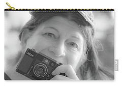 Self Portrait With A Ricoh Carry-all Pouch