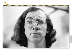Self-portrait, With Raised Eyebrow, 1972 Carry-all Pouch