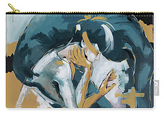 Self Reflection - Of A Dancer Carry-all Pouch