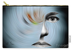 Selfie Carry-all Pouch by Leo Symon