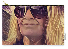 Selfportrait  Carry-all Pouch by Colette V Hera Guggenheim