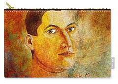 Selfportrait Oil Carry-all Pouch