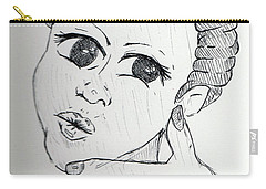 Selfy Carry-all Pouch by Loretta Nash