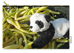 Carry-all Pouch featuring the photograph Selling Beans by Ausra Huntington nee Paulauskaite