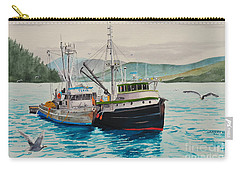 Selling Fish To Peter Pan Carry-all Pouch