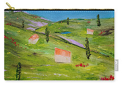 Carry-all Pouch featuring the painting Semplicita by Judith Rhue
