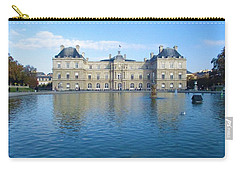 Senat From Jardin Du Luxembourg Carry-all Pouch by Christopher Kirby