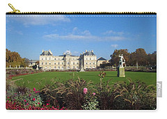 Senate From Jardin Du Luxembourg Carry-all Pouch by Christopher Kirby