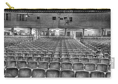 Senate Theatre Seating Detroit Mi Carry-all Pouch by Nicholas  Grunas