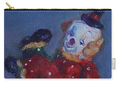 Send In The Clowns Carry-all Pouch by Quin Sweetman