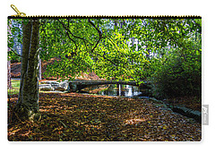 Carry-all Pouch featuring the photograph Sentinel Bridge by Ken Frischkorn