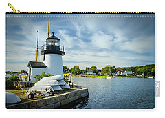 Sentinels Of The Sea Lighthouse Carry-all Pouch