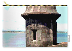 Sentry Box In El Morro Carry-all Pouch by The Art of Alice Terrill