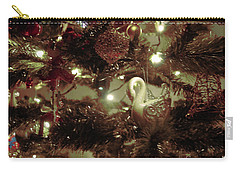 Sepia Christmas Tree Carry-all Pouch