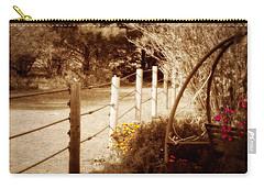 Sepia Garden Carry-all Pouch