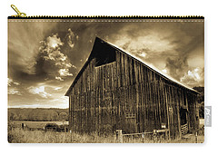 Sepia Historic Barn Carry-all Pouch