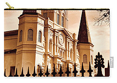 Sepia St. Louis Cathedral Carry-all Pouch