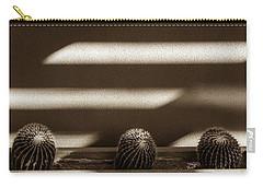 Sepia Stucco Shadows Carry-all Pouch