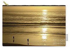 Carry-all Pouch featuring the photograph Sepia Sunset by Susan Wiedmann