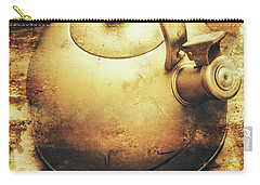 Sepia Toned Old Vintage Domed Kettle Carry-all Pouch