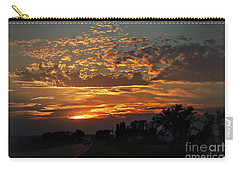 Sept Sunset Carry-all Pouch by Yumi Johnson