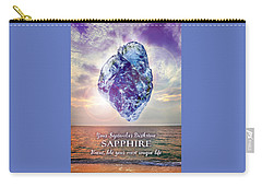 September Birthstone Sapphire Carry-all Pouch