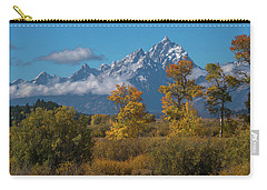 September Colors In Grand Teton National Park Carry-all Pouch
