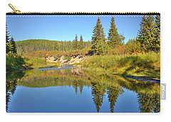 Carry-all Pouch featuring the photograph September by Jim Sauchyn