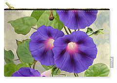 September Morning Glory Carry-all Pouch