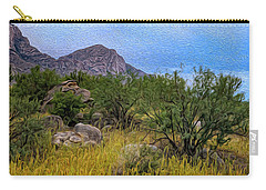 Carry-all Pouch featuring the photograph September Oasis No.2 by Mark Myhaver