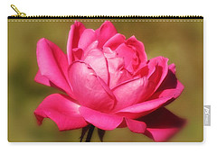 September Rose Up Close Carry-all Pouch