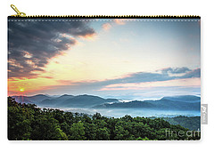 Carry-all Pouch featuring the photograph September Sunrise by Douglas Stucky