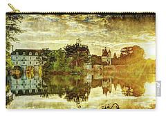September Sunset In Chenonceau - Vintage Version Carry-all Pouch