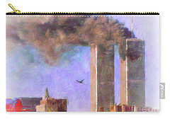 September The 11th Carry-all Pouch by Melissa Messick