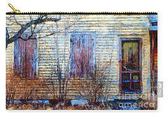 September's Gone - Yellow Farmhouse Windows Carry-all Pouch