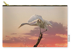 Sepulveda Basin Crane 2 Carry-all Pouch