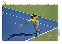 Serena Williams 1 Carry-all Pouch by Nishanth Gopinathan
