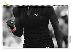 Serena Williams On Fire Carry-all Pouch