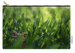 Carry-all Pouch featuring the photograph Serendipity by Laura Fasulo