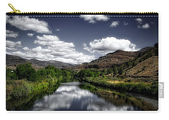 Carry-all Pouch featuring the photograph Serene Morning by Lynn Hopwood