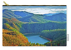 Serene Mountains And Lake Carry-all Pouch