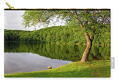 Serene Pond Scene Carry-all Pouch