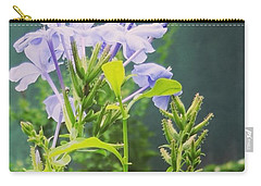 Serene Purple Carry-all Pouch by Rushan Ruzaick