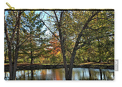 Serene Scene At The Park Carry-all Pouch