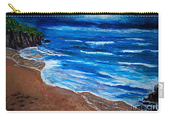 Serene Seashore Carry-all Pouch