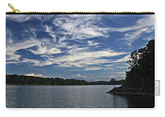 Carry-all Pouch featuring the photograph Serene Skies by Gary Kaylor